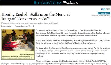 Rutgers Today (December 13, 2012)